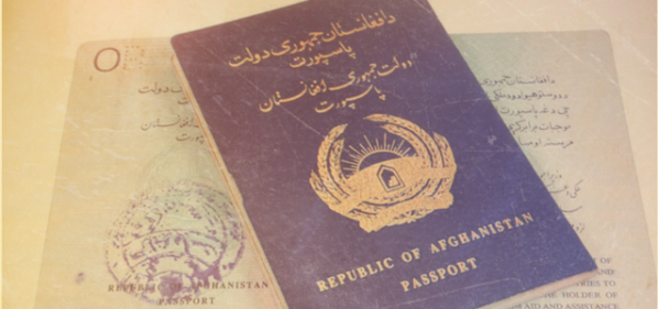 Afghan Passport
