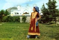 Afghan Dress of Kandahar